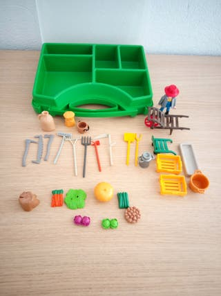 Maletín granja Playmobil.