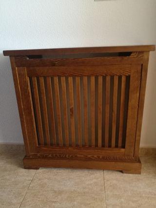 Cubreradiador de madera maciza