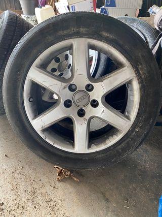 Llantas y neumáticos Audi a4