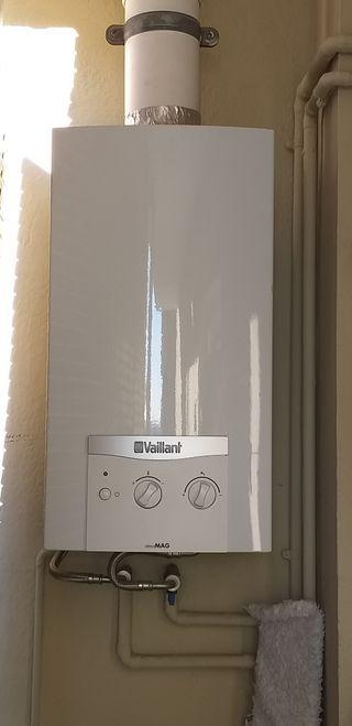 Calentador de gas butano VAILLANT