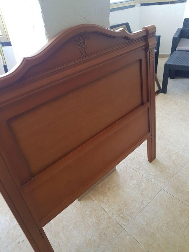 cabecero cama madera maciza