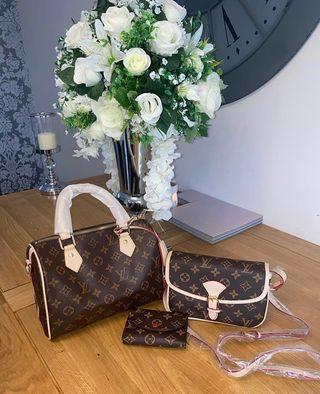 Louis Vuitton Travel Set Handbags New 5 Left