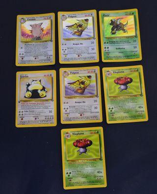 Cartas Pokemon Jungla