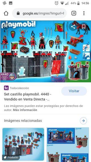 Castillo maletín portátil Playmobil 4440