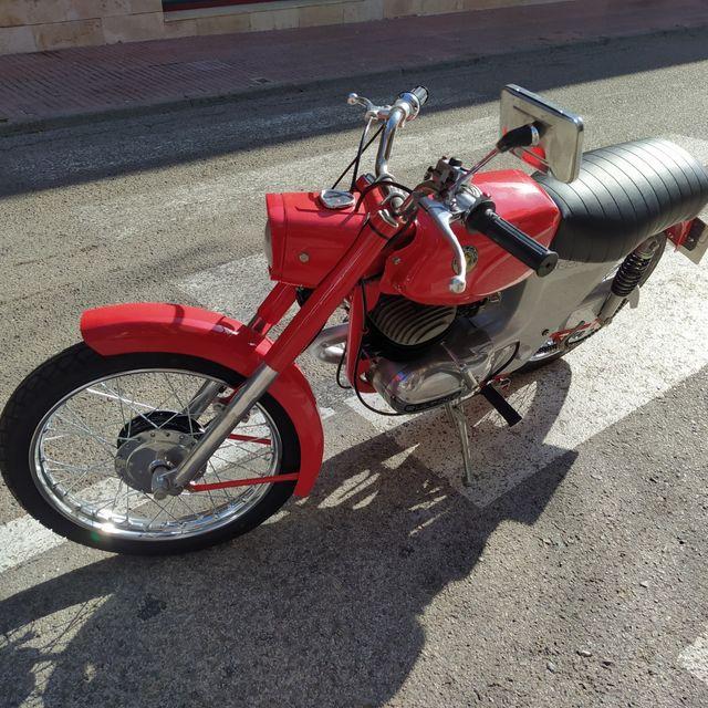 bultaco 75cc matriculada ITV pasada