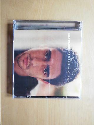 Se vende CD de Álex Ubago, Fantasía o realidad