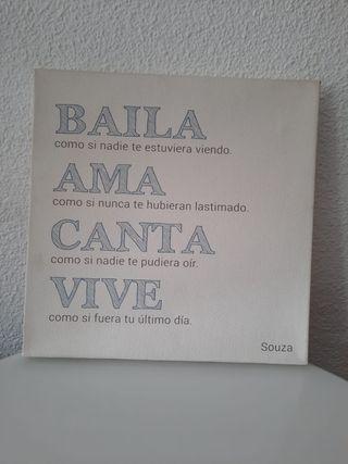 Cuadro Frases Motivacionales (SOUZA).