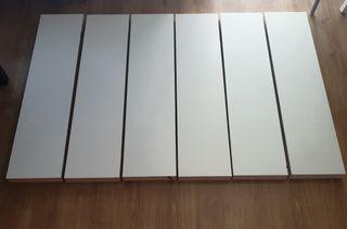 Estanteria Ikea para pared Color Blanco.