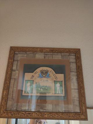 Cuadro original The all England club