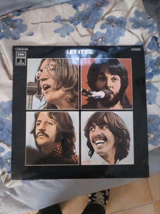 the beatles, Let It be. 1971 coleccionista.