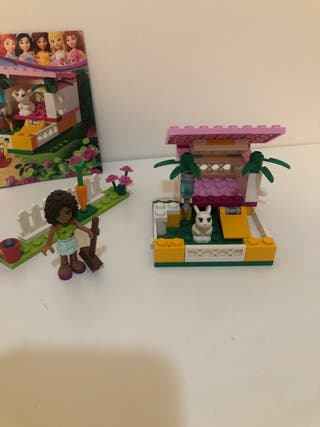 casa de conejo lego friends