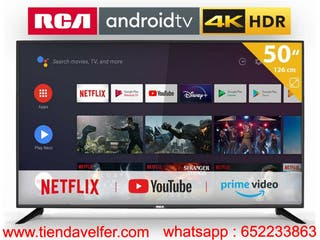 Smart TV 50 Pulgadas 4K