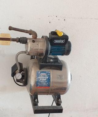 bomba de refuerzo para presión de agua