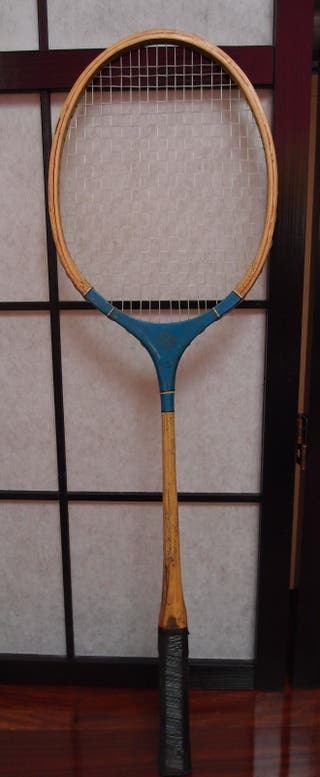 Raqueta badminton antigua