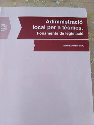 Administració local per a tècnics