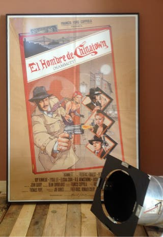 Cartel cine antiguo