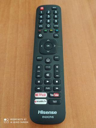 mando distancia Tv marca Hisensen (2x27HS)