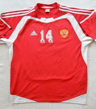 Camiseta futbol Rusia