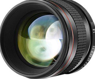 Objetivo 85mm para Canon