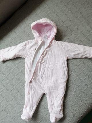 buzo bebe rosa 3-6 meses