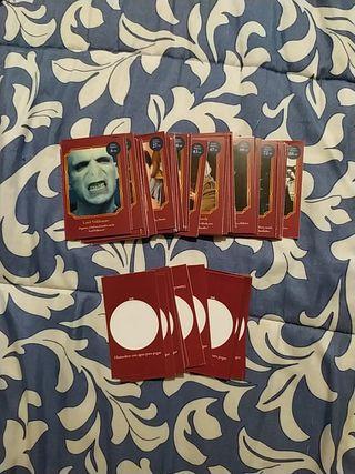 38 cartas de Harry Potter+copones de regalo