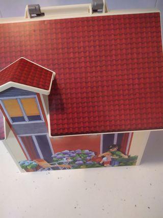 casita Playmobil maletin