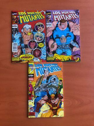 Los Nuevos Mutantes y X-Force de Rob Liefeld