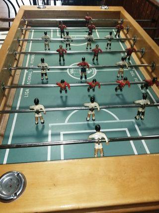 Futbolin para bar con monedero