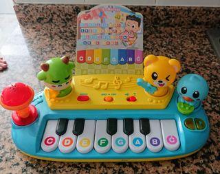 PIANO con MICRÓFONO + partituras!