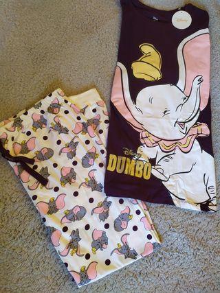 Pijama de Dumbo Disney talla XL 46-48