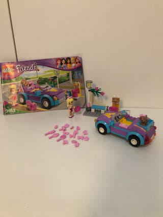 coche lego friends