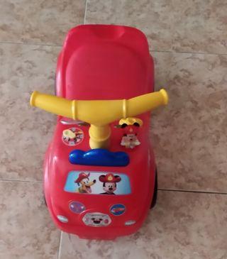 carrepasillos camion interactivo del Mickey