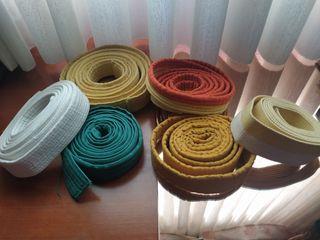 Cinturón colores kimonos artes marciales