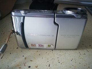 cámara de fotos nikon coolpix