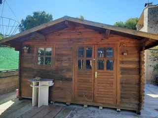 casa de madera 4x4