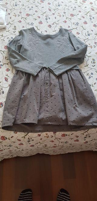 4 vestidos niña arreglados por 5€. Talla 8