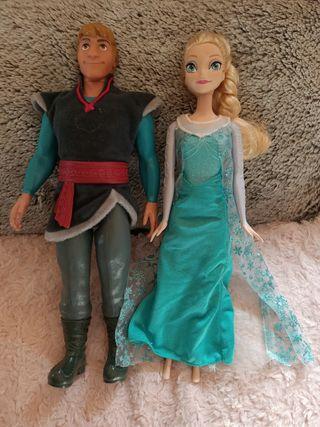 Lote muñecas Frozen