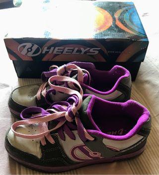 Zapatos con ruedas Heelys talla 36,5