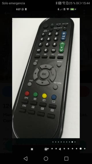 mando para televisión