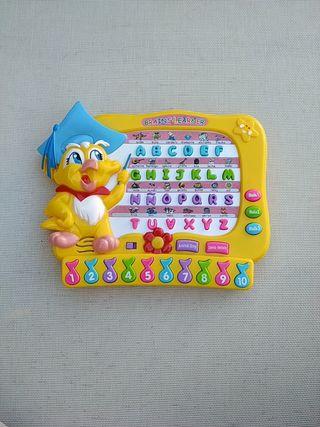 Juguete interactivo para contar, alfabeto, etc.