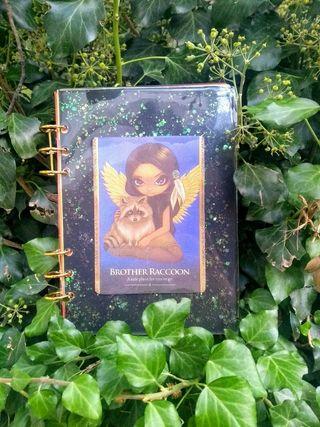 Libreta oráculo personal artesanal