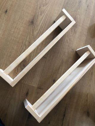 Especieros-estanterías de Ikea 2 unidades 5€