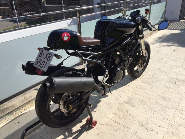 Ducati 750 SS Café Racer