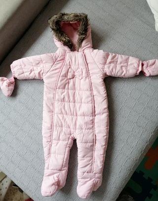 buzo Rosa bebé 9-12 meses
