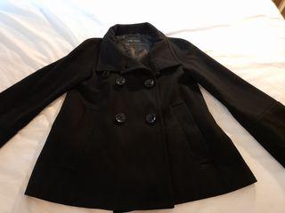 Chaqueta abrigo negra Talla M
