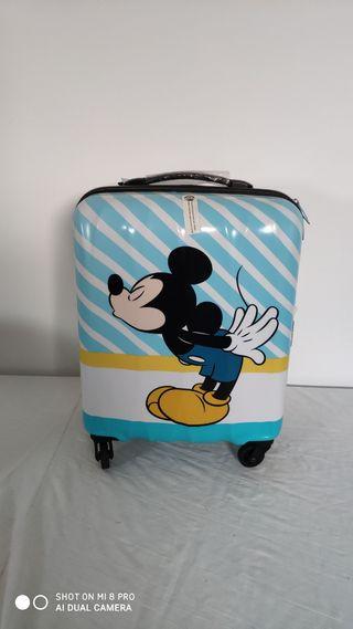 Maleta cabina American Turister Mickey mouse