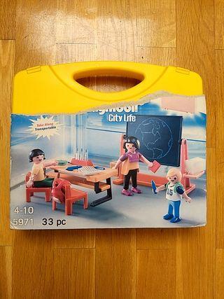 Playmobil 5971 maletín de escuela Nuevo
