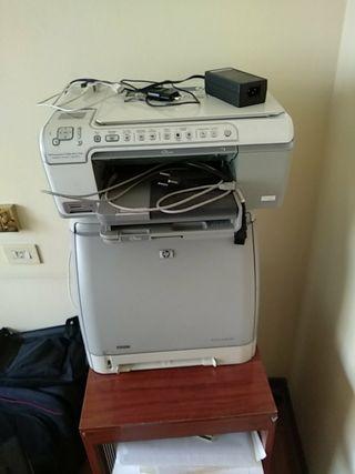 Impresora laser e impresora de cartuchos