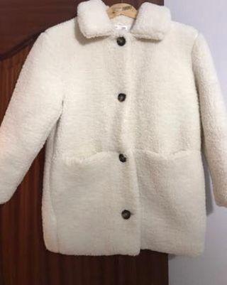 Abrigo de borreguito Talla 10 Zara Kids