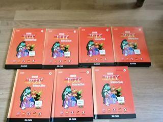 vendo colección de libros CD aprender ingles